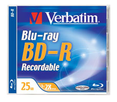 blu-ray BD-R 25Gb