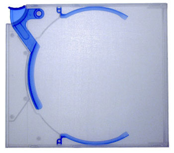 Blue ejector case