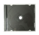 Jewel Case (1 CD) with black tray 200 Pack
