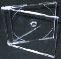Jewel Case Maxi single clear 100 Pack