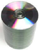 CD-R 80 plain silver top 52 speed 100 disks