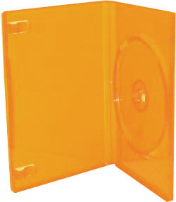 Dvd Cases Singles Red Blue Green Yellow Orange And White