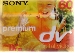 sony 60 minute DVM tape