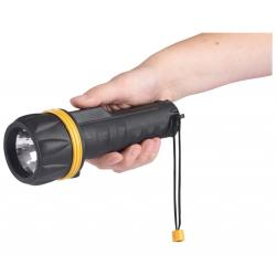 Rubber Torch Takes 2x D Batteries