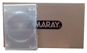 DVD case 1 disk super clear single disk 50 cases, premium quality Amaray Case