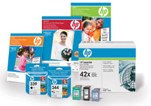 HP toner and ink cartridges