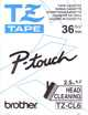 P Touch 36mm cleaning tape TZ-CL6