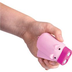 2 LED Hand Pressing Pig Torch